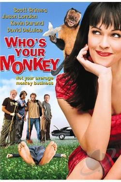 Who's Your Monkey DVD Cover Art