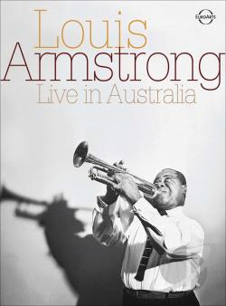 Louis Armstrong - Live in Australia DVD Cover Art