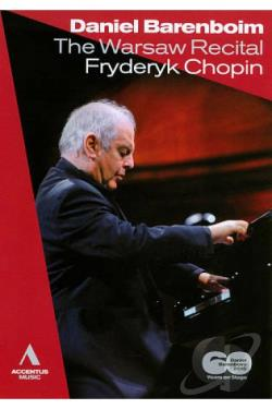 Daniel Barenboim: The Warsaw Recital - Fryderyk Chopin DVD Cover Art
