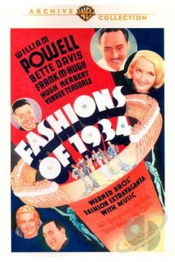 Fashions of 1934 DVD Cover Art