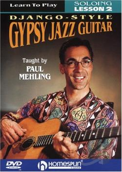 Learn to Play Django - Style Gypsy Jazz Guitar - Soloing - Vol. 2 DVD Cover Art