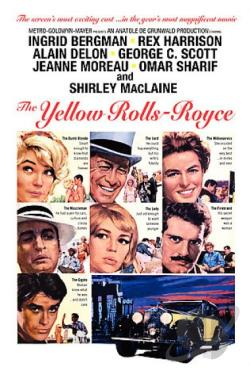 Yellow Rolls Royce DVD Cover Art