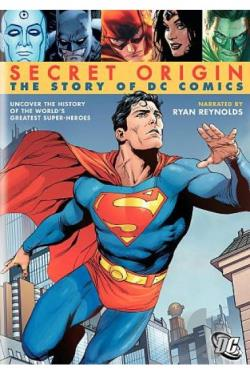 Secret Origin: The Story of DC Comics DVD Cover Art