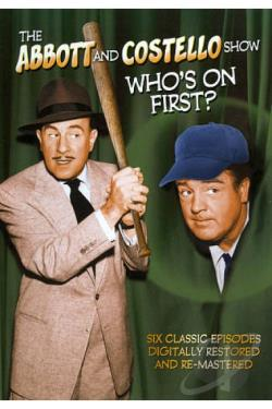 Abbott and Costello Show: Who's on First? DVD Cover Art