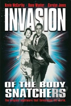 Invasion Of The Body Snatchers DVD Cover Art
