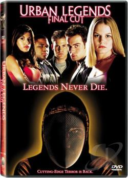 Urban Legends: Final Cut DVD Cover Art