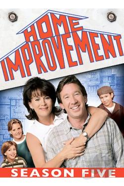Home Improvement - The Complete Fifth Season DVD Cover Art
