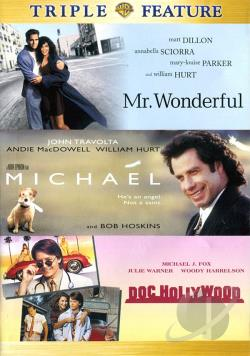 Doc Hollywood/Mr. Wonderful/Michael DVD Cover Art
