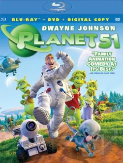 Planet 51 BRAY Cover Art