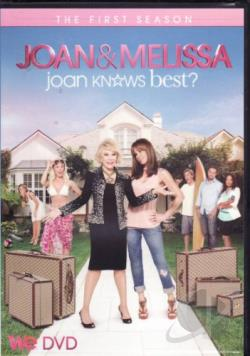Joan & Melissa: Joan Knows Best: Season 1 DVD Cover Art
