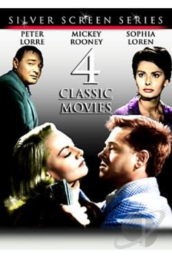 Silver Screen Series Vol.2 - 4 Movies DVD Cover Art