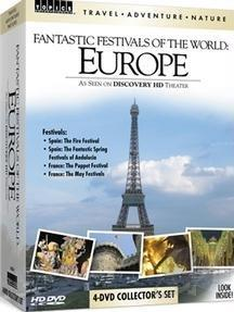 Travel Adventure Nature: Fantastic Festivals of the World - Europe DVD Cover Art