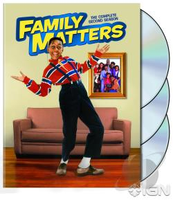 Family Matters - The Complete Second Season DVD Cover Art