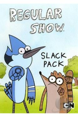 Regular Show: Slack Pack DVD Cover Art