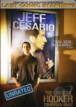 Jeff Cesario - You Can Get A Hooker Tomorrow Night DVD Cover Art