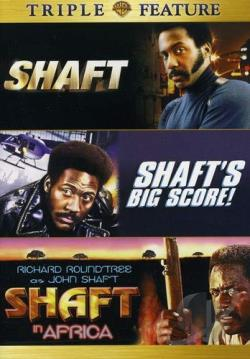 Shaft/Shaft's Big Score/Shaft in Africa DVD Cover Art