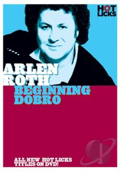 Arlen Roth - Beginning Dobro DVD Cover Art