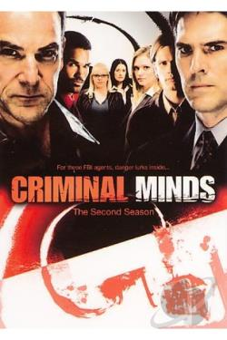 Criminal Minds - The Complete Second Season DVD Cover Art