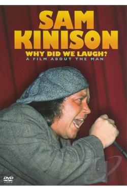 Sam Kinison - Why Did We Laugh? DVD Cover Art