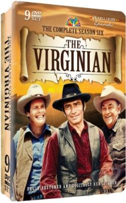 Virginian - The Complete Season Six DVD Cover Art