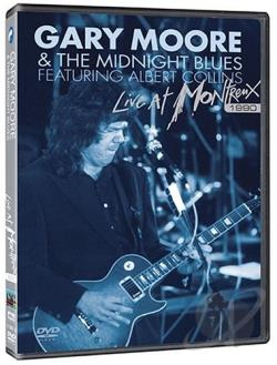 Gary Moore & the Midnight Blues - Live at Montreux 1990 DVD Cover Art