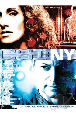 CSI: New York - The Complete Third Season DVD Cover Art