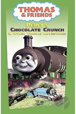 Thomas & Friends - Percy's Chocolate Crunch DVD Cover Art