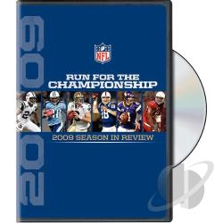 NFL: Run for the Championship - 2009 Season in Review DVD Cover Art