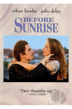 Before Sunrise DVD Cover Art