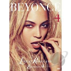 Beyonce: Live at Roseland - Elements of 4 DVD Cover Art
