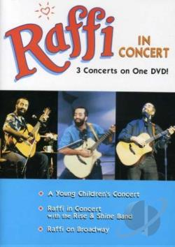Raffi - Raffi In Concert DVD Cover Art