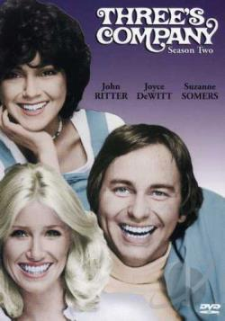 Three's Company - Season 2 DVD Cover Art