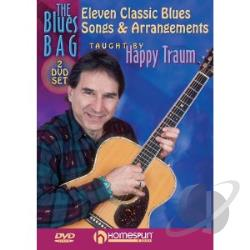 Blues Bag, The: Expanding Your Repertoire and Guitar Technique Vol. 1 - Happy Traum DVD Cover Art