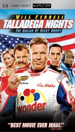 Talladega Nights: The Ballad Of Ricky Bobby UMD Cover Art