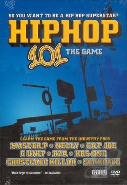 Hip Hop 101 - The Game DVD Cover Art