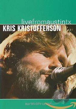 Kris Kristofferson - Live From Austin, Texas DVD Cover Art