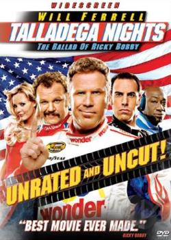 Talladega Nights: The Ballad Of Ricky Bobby DVD Cover Art