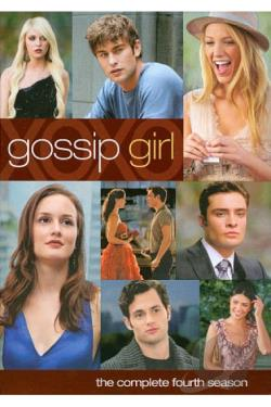 Gossip Girl - The Complete Fourth Season DVD Cover Art