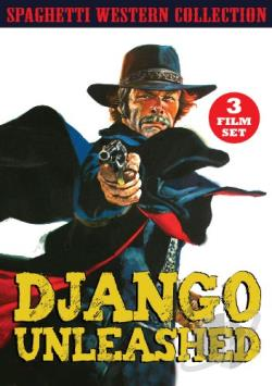 Django Unleashed: Western Movie Collection DVD Cover Art
