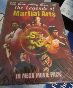 Legends Of Martial Arts DVD Cover Art