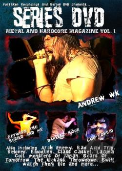 Series DVD - Metal and Hardcore Vol. 1 DVD Cover Art