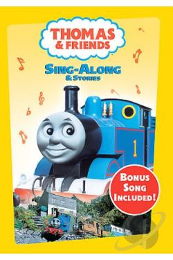 Thomas & Friends - Sing-Along & Stories DVD Cover Art
