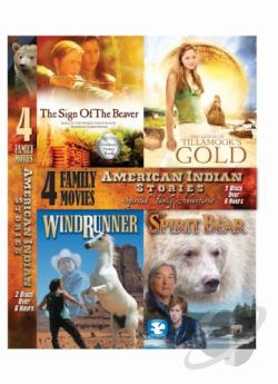 American Indian Stories DVD Cover Art