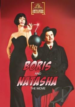 Boris and Natasha the Movie DVD Cover Art