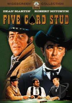 Five Card Stud DVD Cover Art