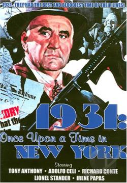 1931 - Once Upon a Time In New York DVD Cover Art