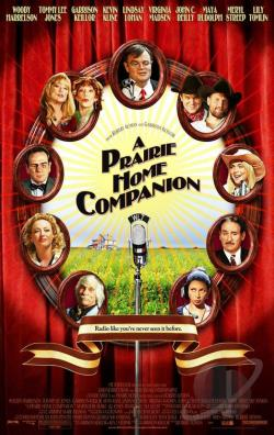 Prairie Home Companion DVD Cover Art