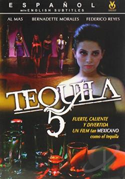 Tequila 5 DVD Cover Art