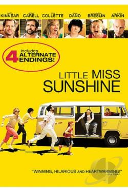 Little Miss Sunshine/Raising Arizona DVD Cover Art