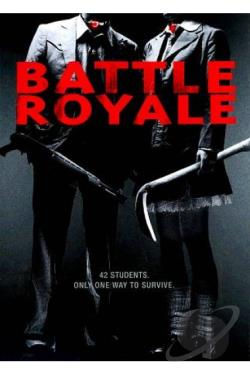 Battle Royale DVD Cover Art